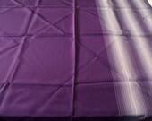 Japanese Furoshiki Eco Wrapping Cloth Purple With Stripe Design 一