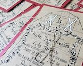 Barn wedding invitations for kelly