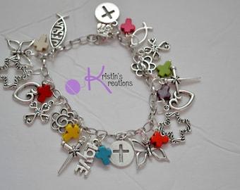 Clearance: Cross Charm Bracelet
