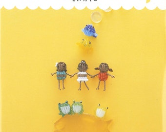 Out-of-print Bead Doll Story – Japanese craft book