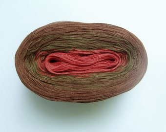 POMME  Color Changing Cotton yarn  480 yards/100 gr  Fingering Weight