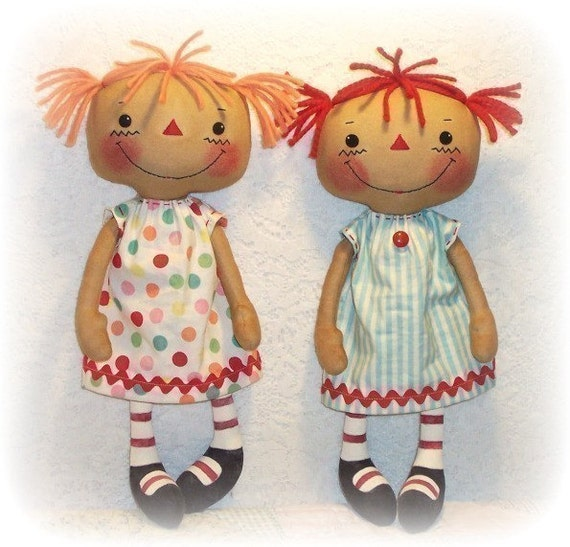 Cloth Doll Pattern, PDF pattern, Rag Doll Pattern, Sewing Pattern, Ragdoll, Soft Doll, Softie. instant download, digital download