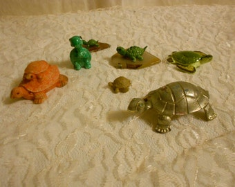 Turtle collection set of 6
