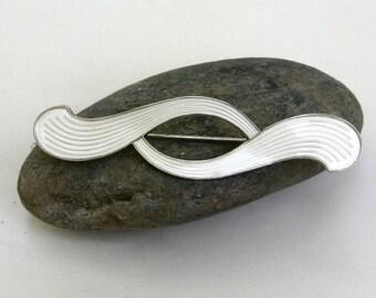 vintage sterling silver norwegian enamel pin brooch  ...   vintage jewelry norway