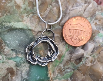 Sterling Silver Pendant Wreath