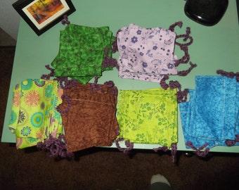 Cotton pouches