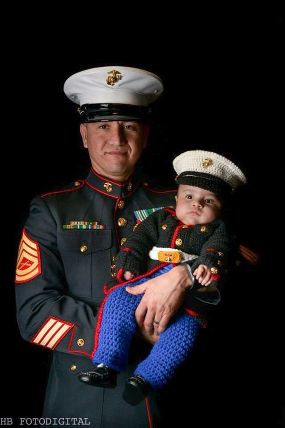 Marine Corps usmc Marine Corps Baby Outfit by