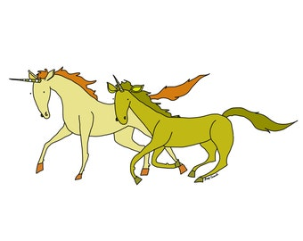 Two Unicorns
