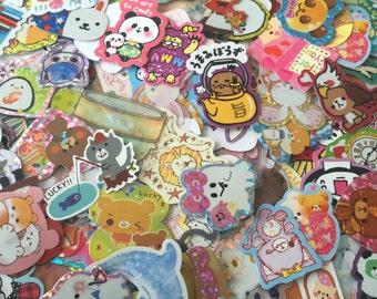 25 Kawaii Sticker Flakes