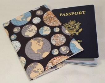 Fabric Passport Cover Case Holder