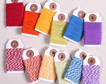 Happy Rainbow Bakers Twine, Cotton Twine, Rainbow Gift Wrap, Baker's Twine, Packaging, Bakers String, Gift Wrapping, Cotton String, Cord