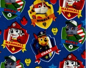 Paw Patrol Zipper pouch and diaper holder