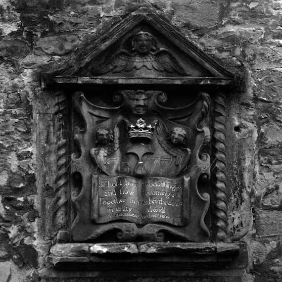 Rustic Scottish Photos Black And White Architectural Details