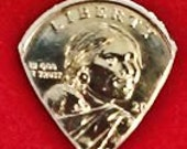 Coins Sacagawea Dollar GUITAR PICKS Golf Ball markers US Dollar Coin Golden Dollar