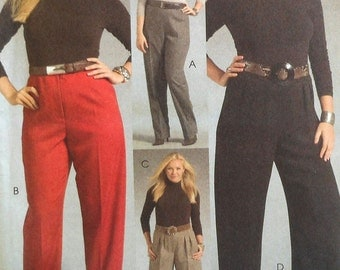 Pants Sewing Pattern UNCUT McCalls M5537 Sizes 18-24 Plus Size