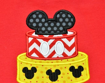 Birthday Mickey T-shirt Personalized (kids)
