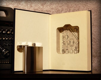 Hollow Book Safe & Flask (How to Fix Damn Near Everything)