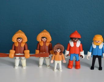 Vintage Collection of Playmobil Polar Expedition Figures