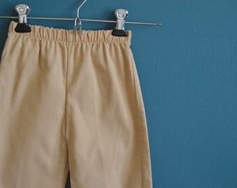 Vintage 1980s Children's Khaki Pants - Size 4T