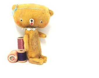 Handmade Jointed Teddy Bear Alice by Michelle Mutschler