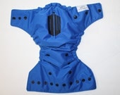 Dr Who inspired embroidered OS Pocket diaper- Cloth diaper- the dr- wibbly wobbly- dr who- tardis- bad wolf