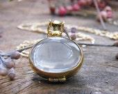 gold oval memory glass locket photo locket heirloom keepsake necklace 14 karat gold fill