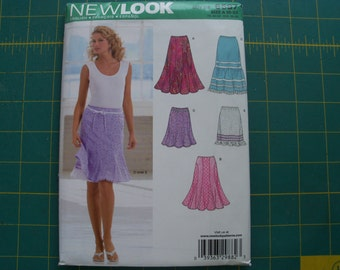 New Look 6597 Misses Skirts Sizes 10-22 NEW Uncut Sewing Pattern