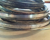 Vintage/Antique - Metal Embroidery Hoops - Craft Supply - 9 Hoops - Hand Stitch Frame - craft ready