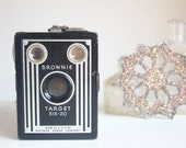 Camera, Target Six-20, Working Condition, Art Deco Decor, Gift For Him, Boyfriend, Dad, Grandpa, Under 50