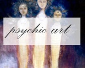 Psychic art - Meet your guardian spirits, animal guides, land spirits or elemental beings and the messages they bring for you.