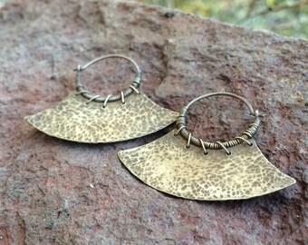 Tribal Blade Earrings