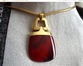 SALE Vintage CROWN TRIFARI Necklace