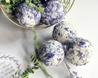 Paper Seed Bombs for Australia,  50 DIY Wedding Favors, Blue Flowers, Seed Balls, Plantable Paper Sprouting Flower bombs