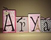 Custom Order for Amira - ARYA's pink/paris BLOCKS