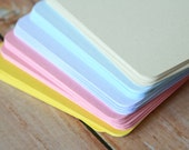 500pc PASTEL Colours Eco Series Business Card Blanks