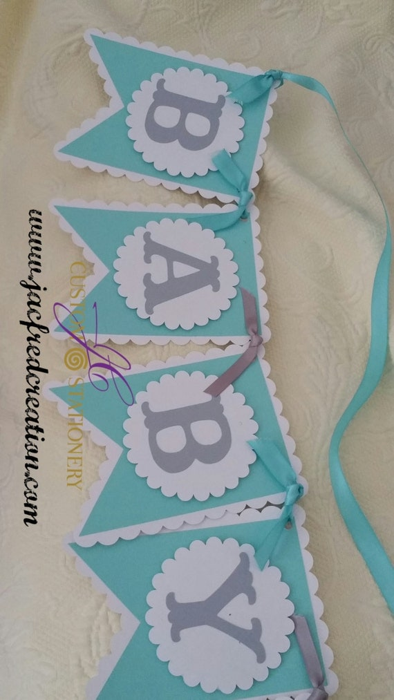 baby and co baby shower banner