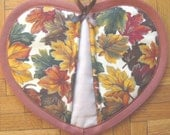 Colorful Autumn Leaves Potholder - SINGLE ONLY