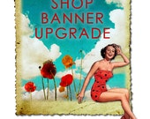 Etsy Shop Banners to Cover Size Upgrade, Made to Match, Graphic Design, New Size Etsy Cover for Your Shop