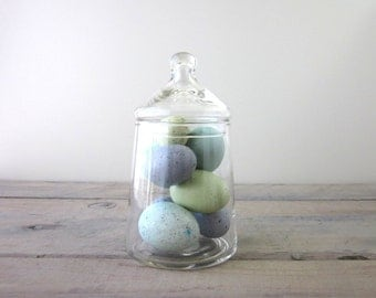 Vintage Glass Apothecary Jar