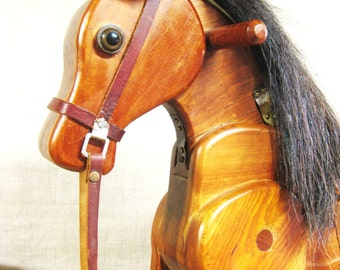 Folk Art Horse , Horse , Equestrian , Handmade , Folk Art , Animal , Equine , Wood Carving ,Carved Wood Horse ,Wooden Folk Art ,Farm Animal