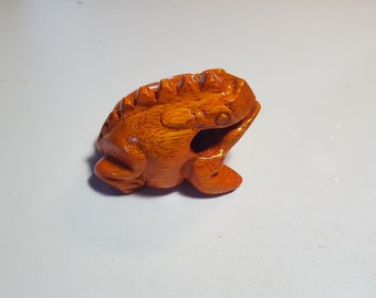 Baby Frog Orange - Poly-Stained