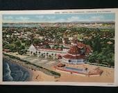 Vintage Postcard - Hotel Del Coronado California - Unused