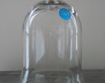 Napa handblown glass cloche