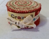 Crazy 8 mini jelly roll - Christmas - OOP VHTF