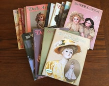 Doll Artisan magazine collection.