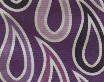 Purple Paisley Stole