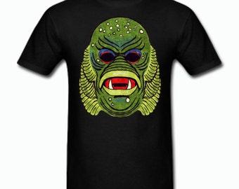 Creature of the Black Lagoon Vintage Halloween Mask T