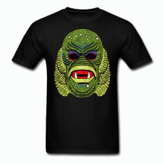 Creature from the Black Lagoon Vintage Halloween Mask T