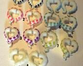 Ready to ship   fake gauge Tentacle Earrings