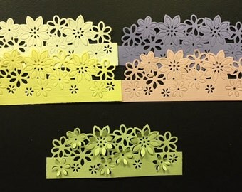 Daisy - New Edgeabilities for Your Cards - Flowers - 3D - Set of 5 - Bazzill